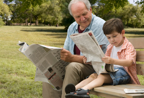 reading_newspapers